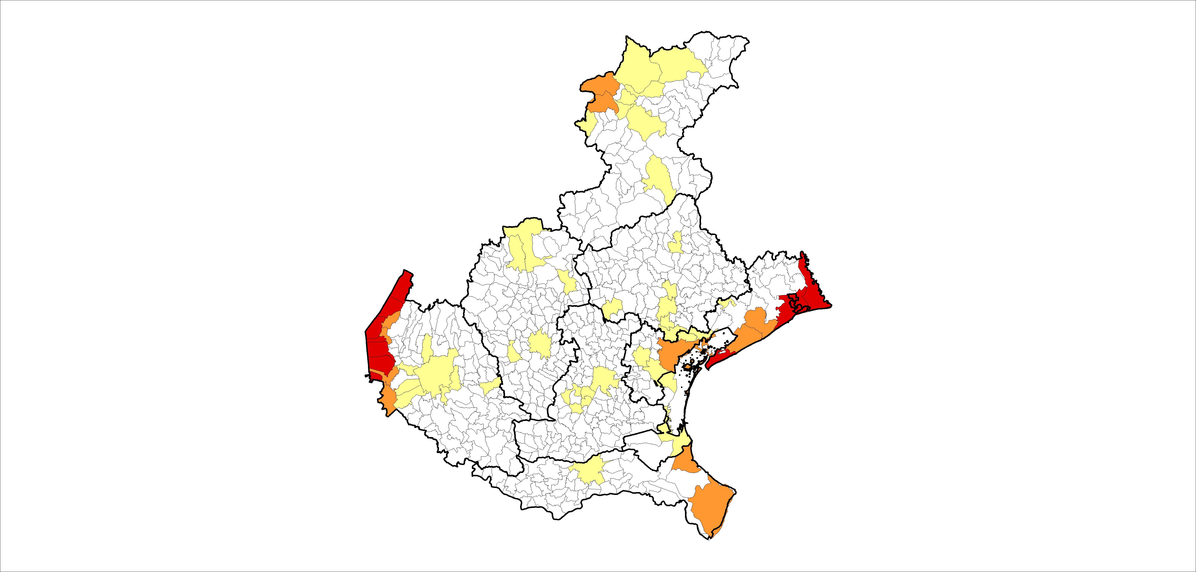 Veneto Regione Cartina.Turismo La Mappa Della Crisi In Veneto Fondazione Think Tank Nord Est